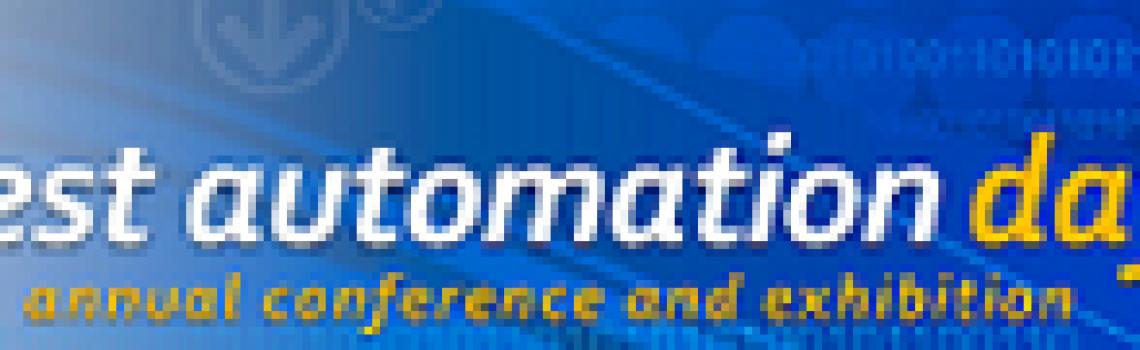 Test Automation Day Rotterdam Konferansı'nda konuşmacıyız