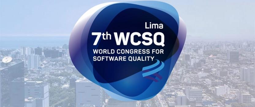 7. World Conference for Software Quality'ye Konuşmacı Olarak Davetliyiz